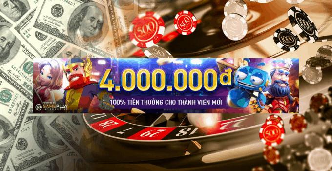 Khuyến mãi chào mừng slot lên đến 4 triệu VNĐ