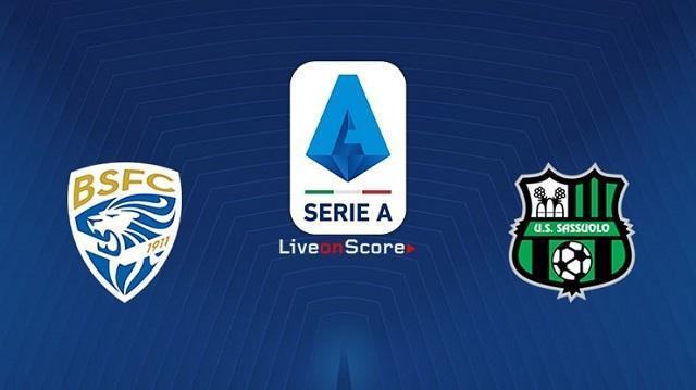 Soi keo nha cai Brescia vs Sassuolo 5 10 2019 VDQG Y Serie A]
