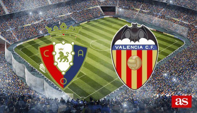 Soi keo nha cai Osasuna vs Valencia, 28/10/2019 - VDQG Tay Ban Nha
