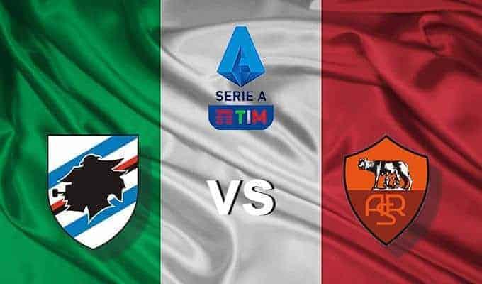 Soi kèo nhà cái Sampdoria vs AS Roma, 20/10/2019 – VĐQG Ý