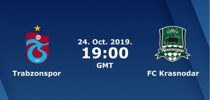 Soi keo nha cai Trabzonspor vs Krasnodar, 25/10/2019 - Cup C2
