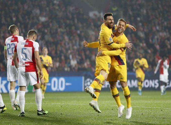 Soi kèo nhà cái Barcelona vs Slavia Praha, 6/11/2019 - Cúp C1 Châu Âu