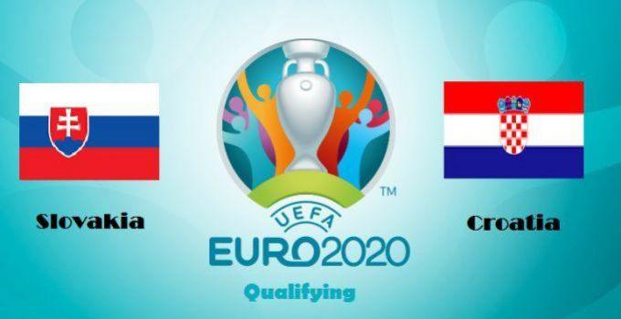 Soi kèo nhà cái Croatia vs Slovakia, 17/11/2019 - vòng loại EURO 2020