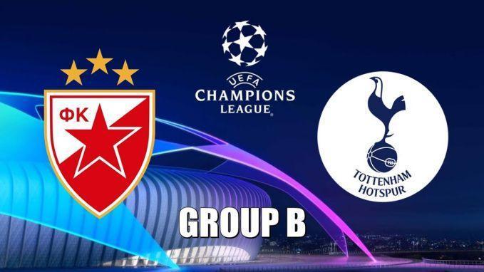 Soi keo nha cai Crvena Zvezda vs Tottenham Hotspur, 7/11/2019 - Cup C1 Chau Au