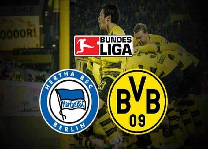 Soi keo nha cai Hertha Berlin vs Borussia Dortmund, ngay 30/11/2019 - Giai VDQG Duc