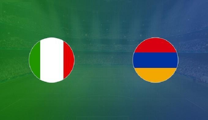 Soi keo nha cai Italia vs Armenia, 19/11/2019 - vong loai EURO 2020
