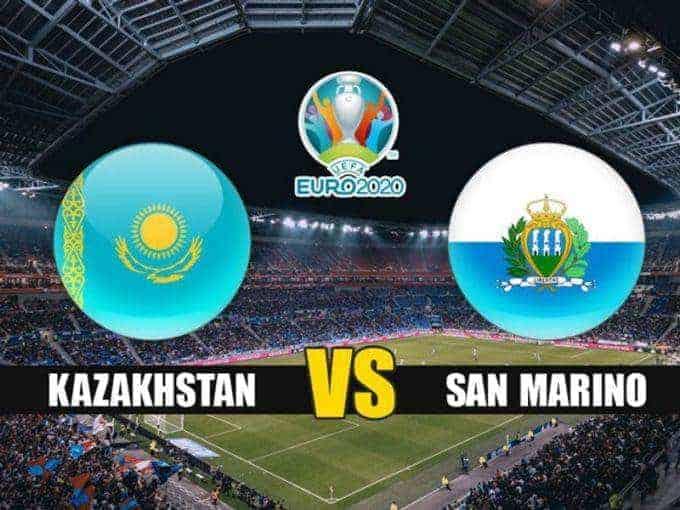 Soi keo nha cai  San Marino vs Kazakhstan, 17/11/2019 - vong loai EURO 2020