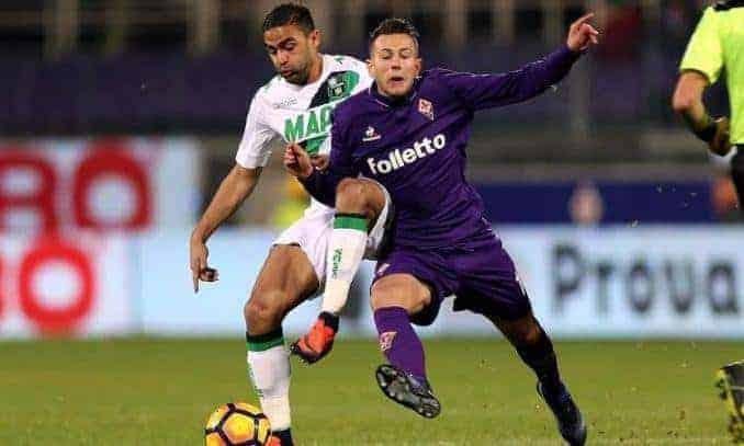 Soi keo nha cai Sassuolo vs Fiorentina, 31/10/2019 - VDQG Y [Serie A]