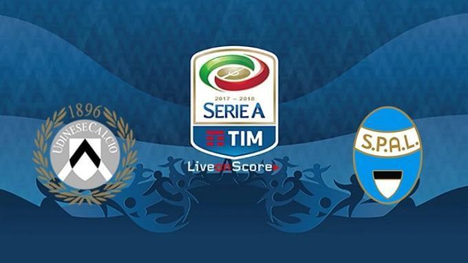 Soi keo nha cai Udinese vs SPAL, 10/11/2019 – VDQG Y (Serie A)
