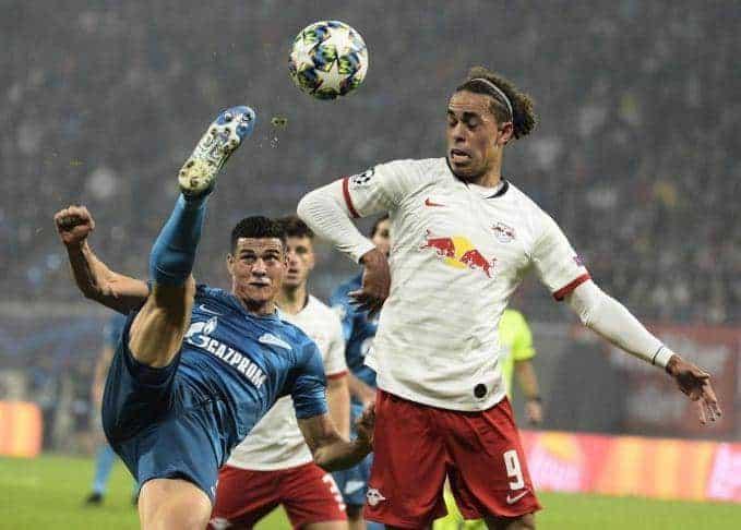 Soi keo nha cai Zenit vs RB Leipzig, 6/11/2019 - Cup C1 Chau Au