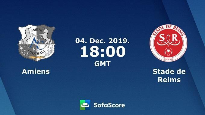 Soi keo nha cai Amiens SC vs Reims, 5/12/2019 – VDQG Phap (Ligue 1)