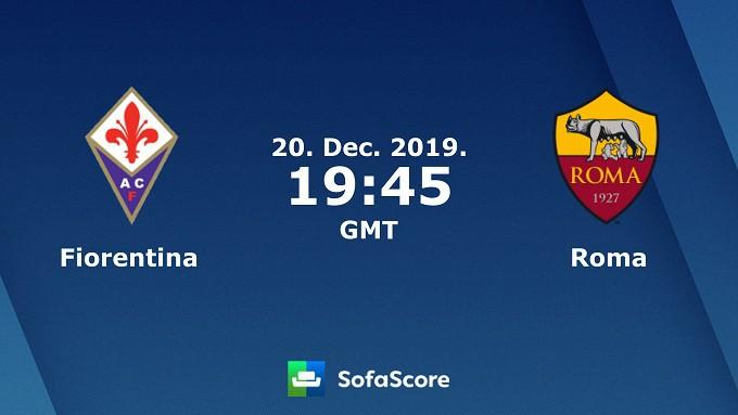 Soi keo nha cai Fiorentina vs AS Roma, 21/12/2019 – VDQG Y (Serie A)