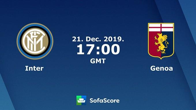 Soi keo nha cai Inter Milan vs Genoa, 22/12/2019 – VDQG Y (Serie A)