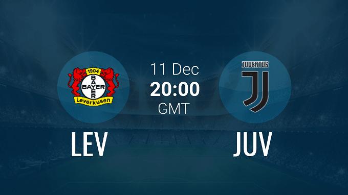 Soi keo nha cai Leverkusen vs Juventus, 12/12/2019 - Cup C1 Chau Au