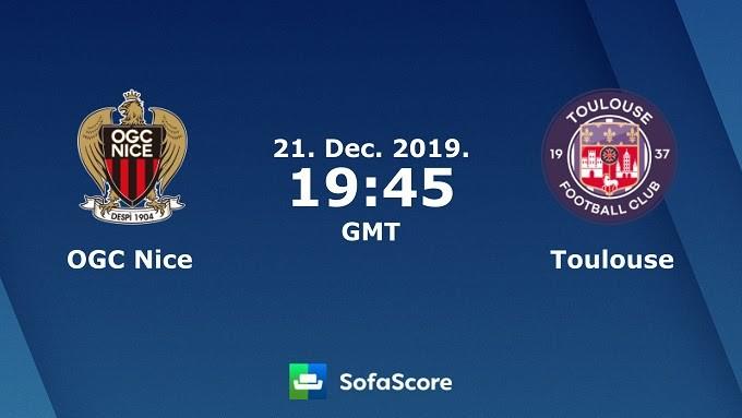 Soi keo nha cai Nice vs Toulouse, 22/12/2019 - VDQG Phap [Ligue 1]