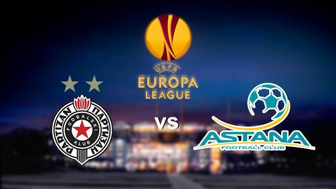 Soi keo nha cai Partizan vs Astana, 13/12/2019 – Cup C2 Chau Au