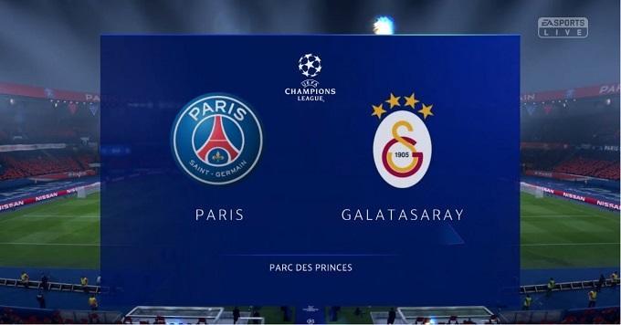 Soi keo nha cai PSG vs Galatasaray, 12/12/2019 - Cup C1 Chau Au