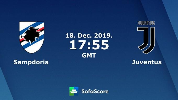 Soi keo nha cai Sampdoria vs Juventus, 19/12/2019 – VDQG Y (Serie A)