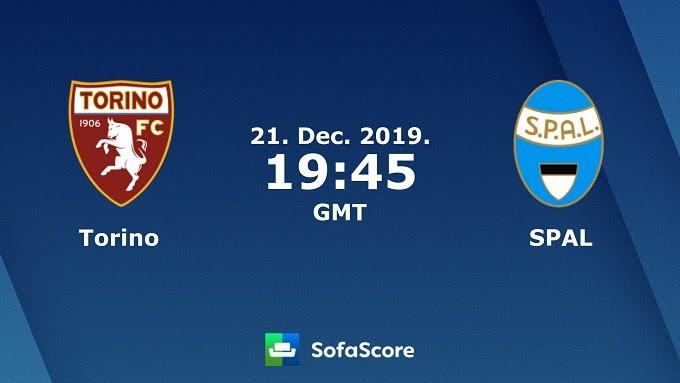 Soi keo nha cai Torino vs SPAL, 22/12/2019 – VDQG Y (Serie A)