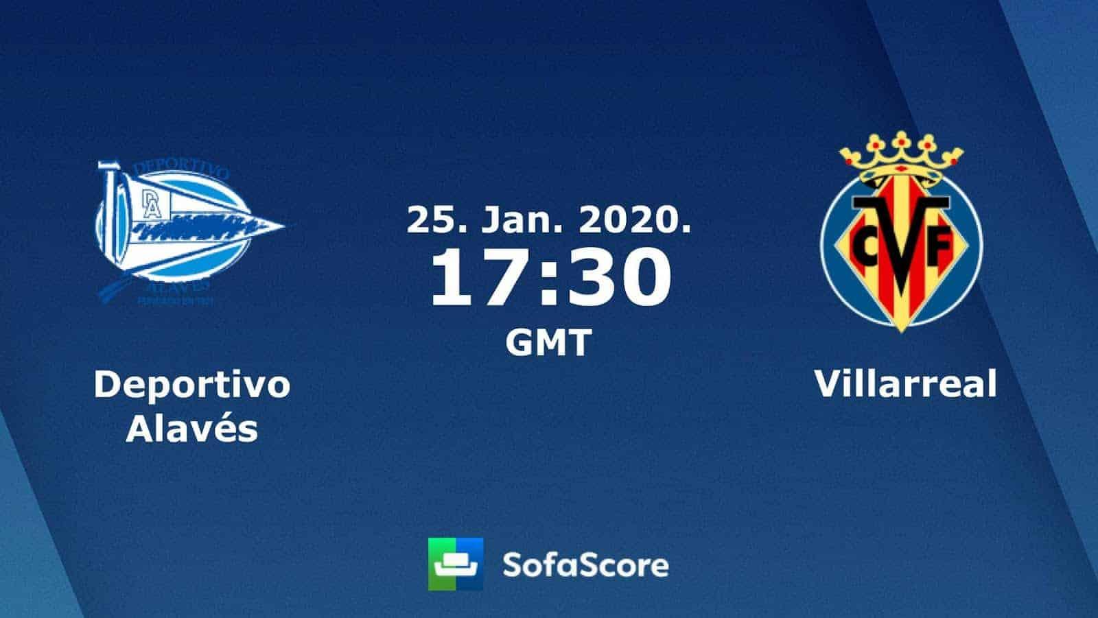 Soi kèo nhà cái Deportivo Alaves vs Villarreal, 26/01/2020 - La Liga