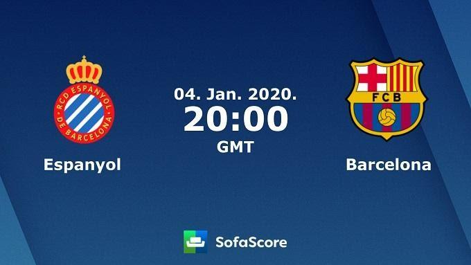 Soi keo nha cai Espanyol vs Barcelona, 5/1/2020 – VDQG Tay Ban Nha (La Liga)