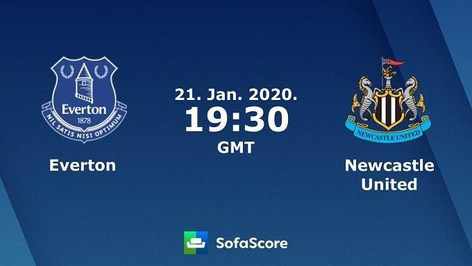 Soi keo nha cai Everton vs Newcastle , 22/01/2020 - Ngoai Hang Anh