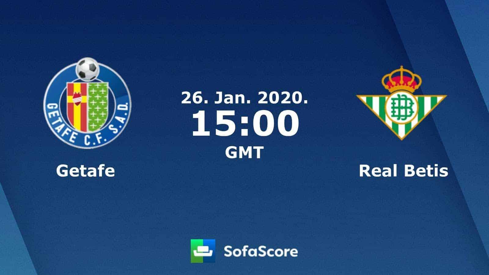 Soi kèo nhà cái Getafe vs Real Betis, 26/01/2020 – VĐQG Tây Ban Nha (La Liga)