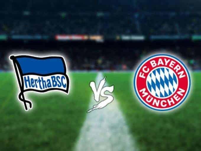 Soi keo nha cai Hertha BSC vs Bayern Munich, 19/01/2020 - Giai VDQG Duc
