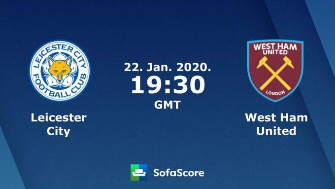Soi keo nha cai Leicester City vs West Ham United , 23/01/2020 - Ngoai Hang Anh
