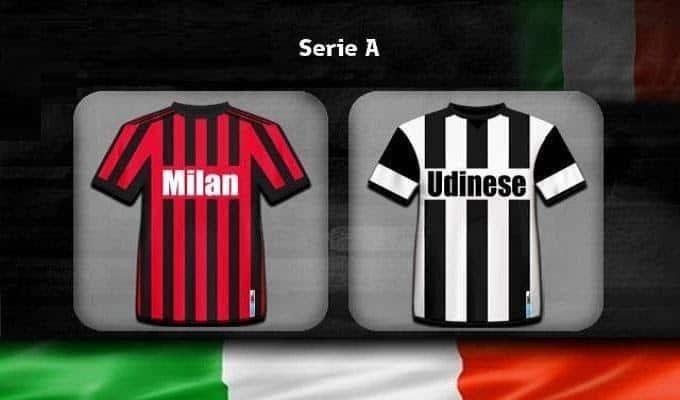 Soi keo nha cai Milan vs Udinese, 19/01/2020 - VDQG Y [Serie A]