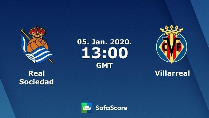 Soi keo nha cai Real Sociedad vs Villarreal, 05/01/2020 – VDQG Tay Ban Nha (La Liga)
