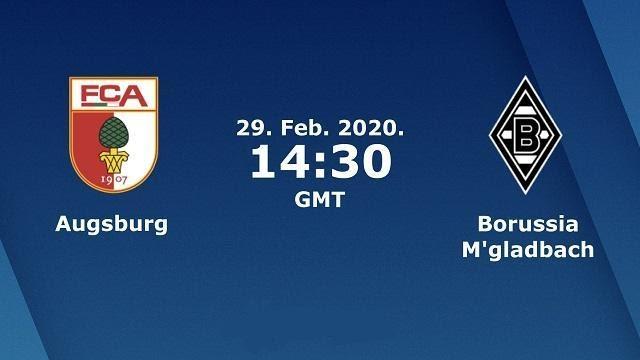 Soi kèo nhà cái Augsburg vs Borussia M'gladbach, 29/02/2020 - Giải VĐQG Đức