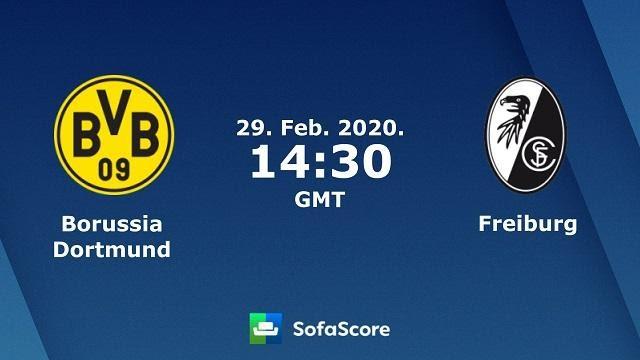 Soi kèo nhà cái Borussia Dortmund vs Freiburg, 29/02/2020 – VĐQG Đức (Bundesliga)