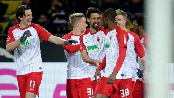 Soi keo nha cai Eintracht Frankfurt vs Augsburg, 08/02/2020 - Giai VDQG Duc