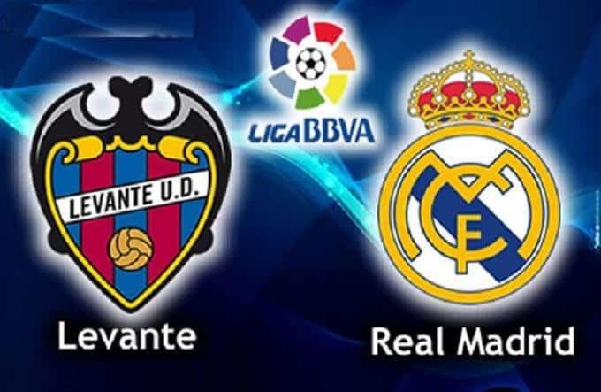 Soi keo nha cai Levante vs Real Madrid, 23/02/2020 - VDQG Tay Ban Nha