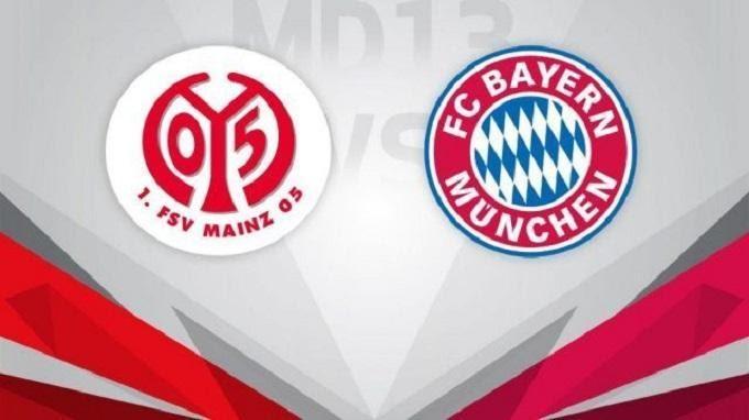 Soi keo nha cai Mainz 05 vs Bayern Munich, 01/02/2020 - Giai VDQG Duc