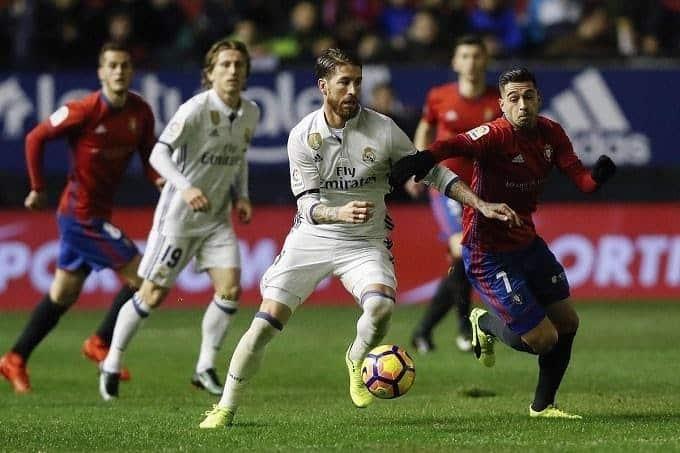 Soi keo nha cai Osasuna vs Real Madrid, 09/02/2020 - VDQG Tay Ban Nha