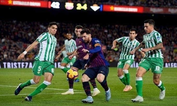 Soi keo nha cai Real Betis vs Barcelona, 09/02/2020 - VDQG Tay Ban Nha