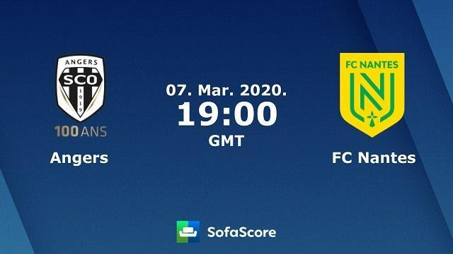 Soi keo nha cai Angers SCO vs Nantes, 08/03/2020 - VDQG Phap [Ligue 1]