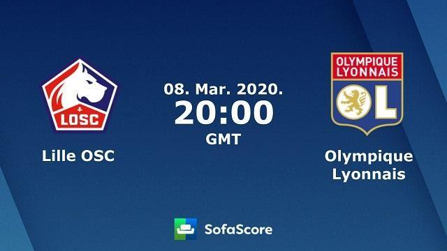 Soi keo nha cai Lille vs Olympique Lyonnais, 09/03/2020 - VDQG Phap [Ligue 1]