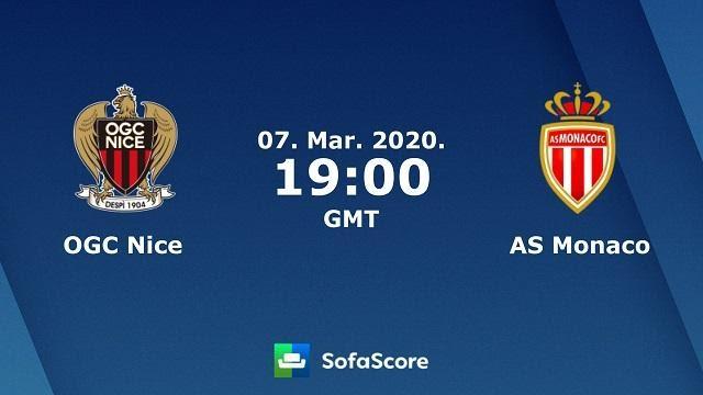 Soi keo nha cai Nice vs Monaco, 08/03/2020 - VDQG Phap [Ligue 1]