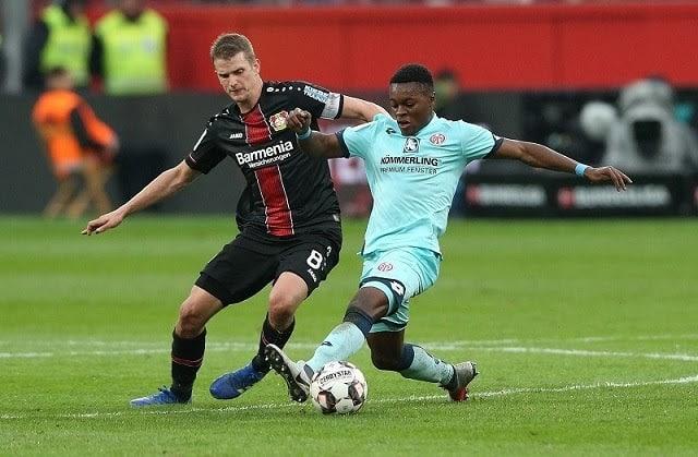 Soi kèo Bayer Leverkusen vs Mainz 05, 27/6/2020