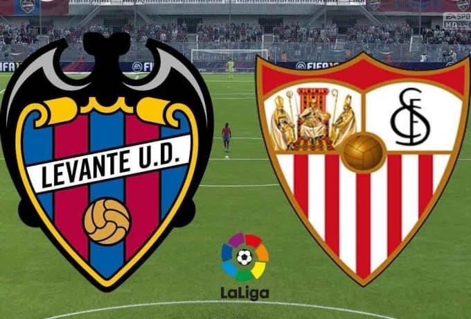 Soi keo Levante vs Sevilla, 16/06/2020