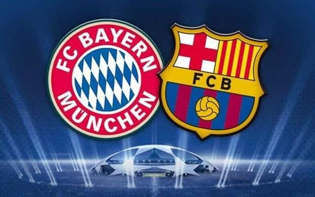 Soi keo Barcelona vs Bayern Munich, 15/08/2020