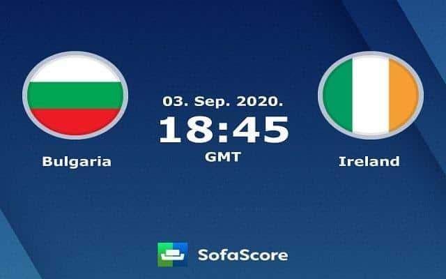 Soi keo Bulgaria vs Ireland, 04/9/2020