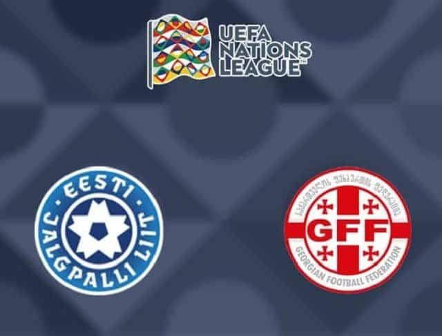 Soi keo Estonia vs Georgia, 05/09/2020