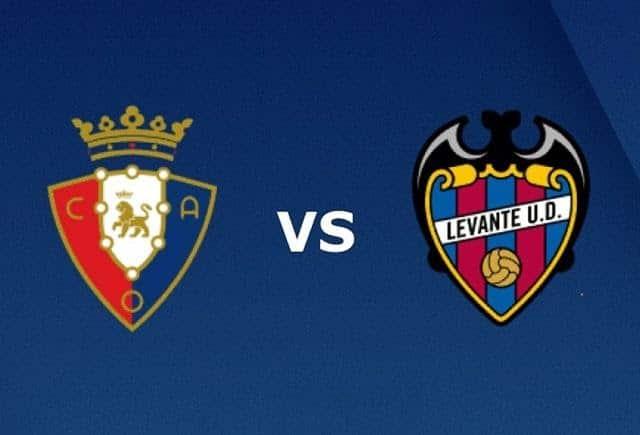 Soi keo Osasuna vs Levante, 27/9/2020