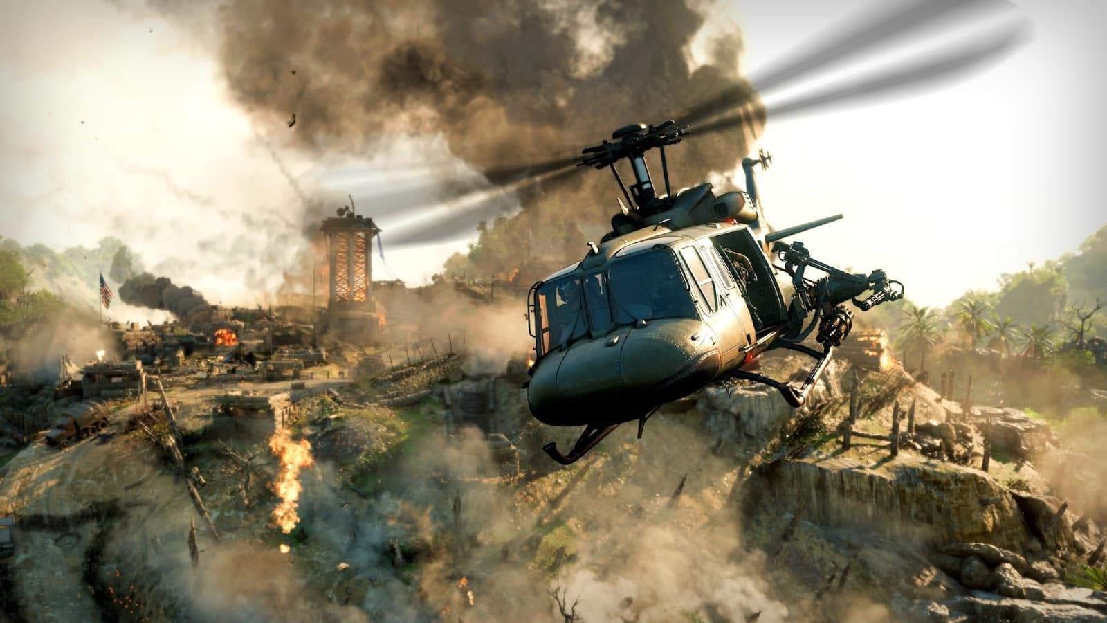 Tìm hiểu phương tiện di chuyển trong game Call Of Duty