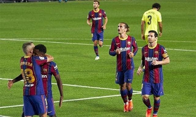 Soi keo Barcelona vs Ferencvaros, 21/10/2020