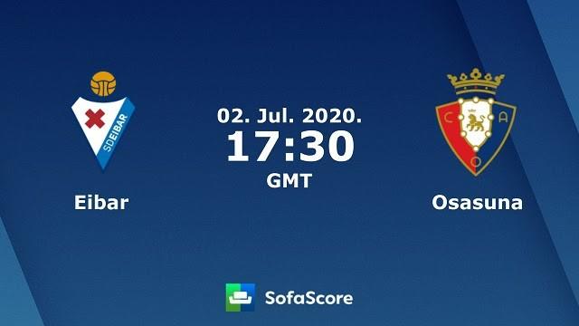 Soi keo Eibar vs Osasuna, 18/10/2020